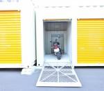 トランクルーム バイク収納例